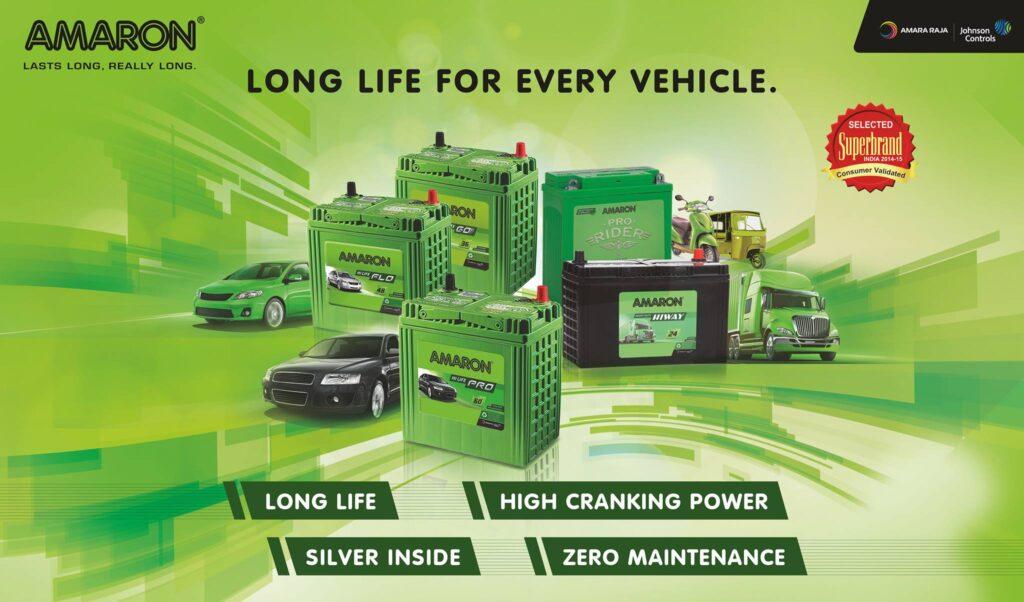 Amaron Long Life Car Battery