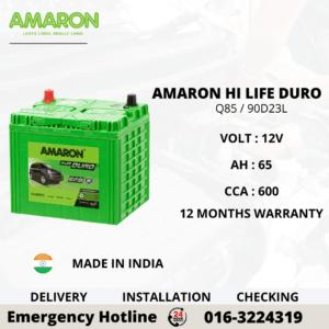 AMARON HI LIFE DURO Q85 / 90D23L EFB BATTERY